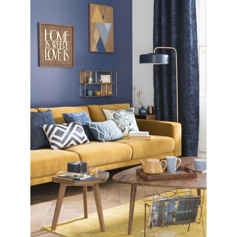 Image Associée  Innenarchitektur Wohnen Und Wohnzimmer von Deko Gelb Wohnzimmer Bild