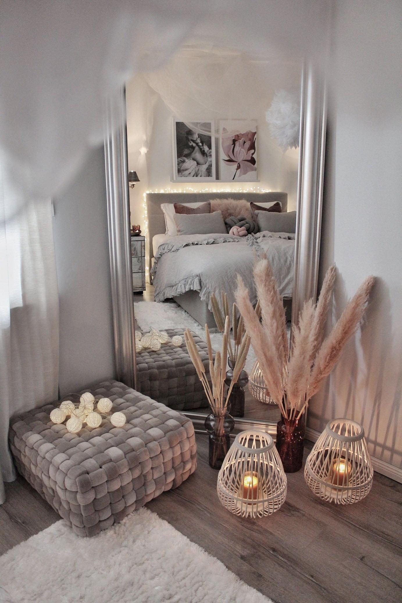 In Diesem Schlafzimmer Von @gozdee81 Wird Es Romantisch von Grosse Deko Für Wohnzimmer Bild