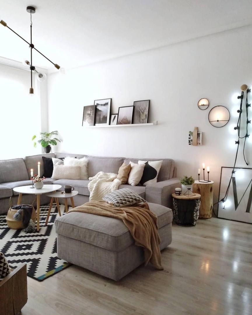 In Diesem Wunderschönen Wohnzimmer Stimmt Einfach Jedes von Lichterkette Ideen Wohnzimmer Photo