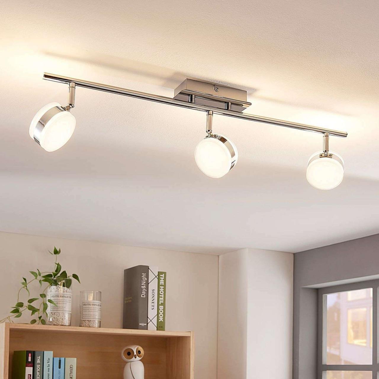 Innenbeleuchtung Küche Haushalt  Wohnen Strahler Modern von Wohnzimmer Deckenlampe Led Photo