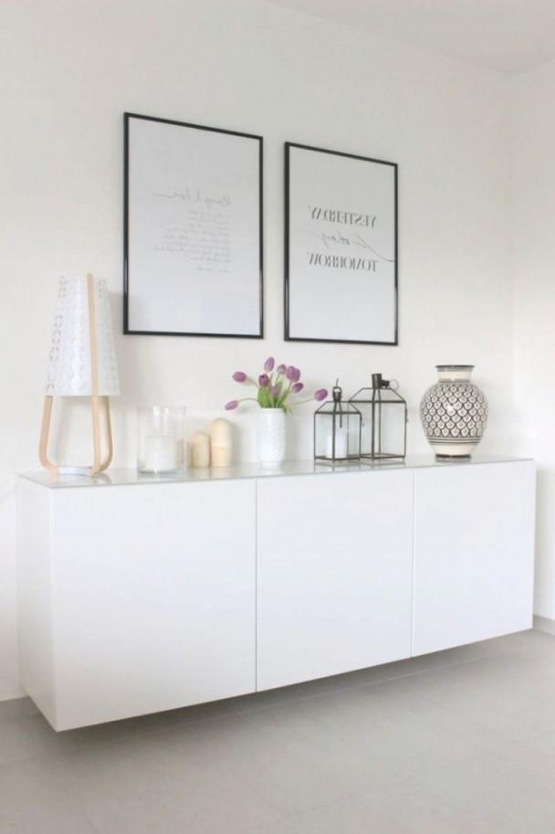 Inspiration Wohnzimmer Deko Auf Rechnung  Minimalistische von Deko Sideboard Wohnzimmer Bild