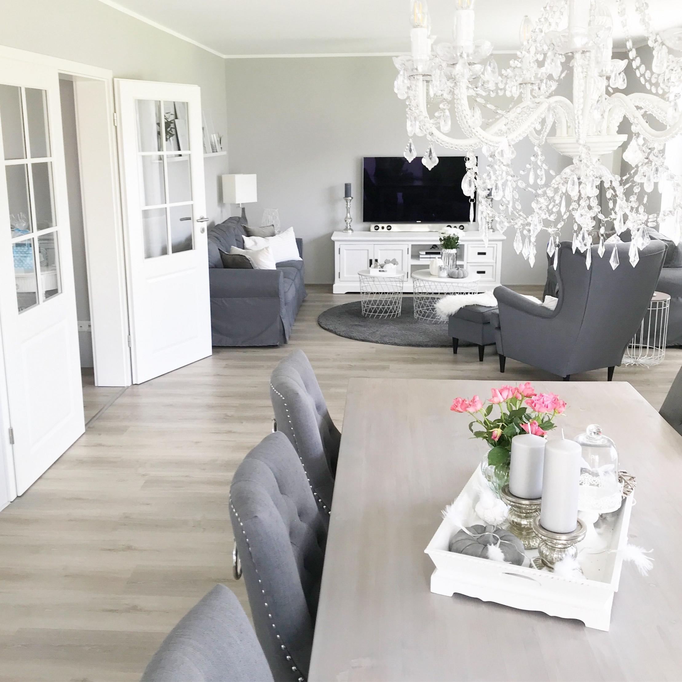 Instagram Wohnemotion Landhaus Wohnzimmer Livingroom von Wohnzimmer Landhausstil Gestalten Bild