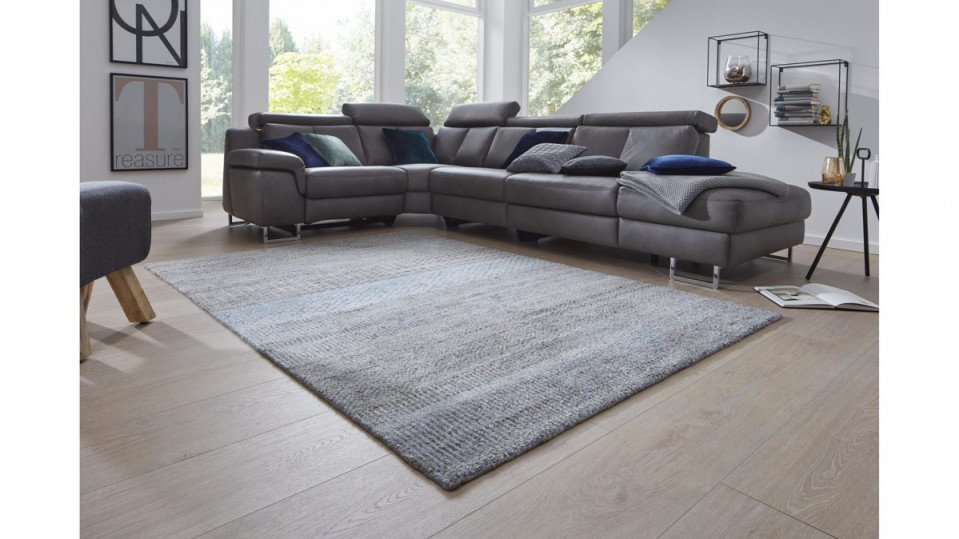 Interliving Teppich Serie S8400 Graublau – Ca 140 X 200 Cm von Wohnzimmer Teppich 140X200 Photo