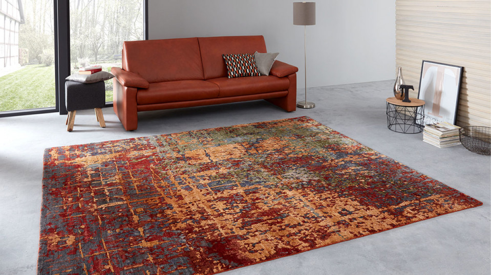 Interliving Teppich Serie T8340 Rostfarben Gemustert – Ca 250 X 300 Cm von Wohnzimmer Teppich 250X300 Photo