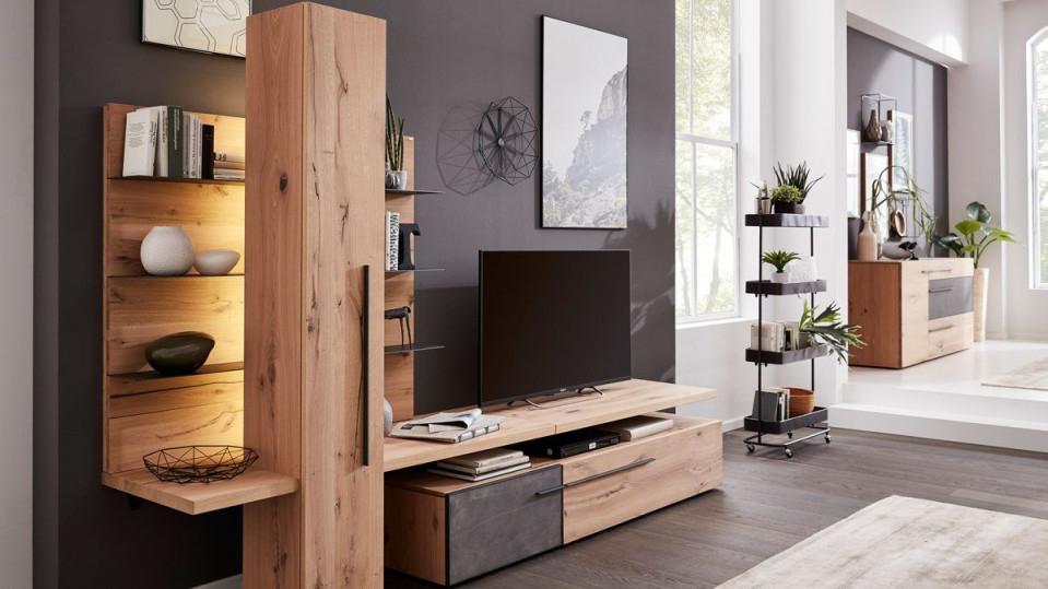 Interliving Wohnzimmer Serie 2004  Wohnkombination von Moderne Holzmöbel Wohnzimmer Bild
