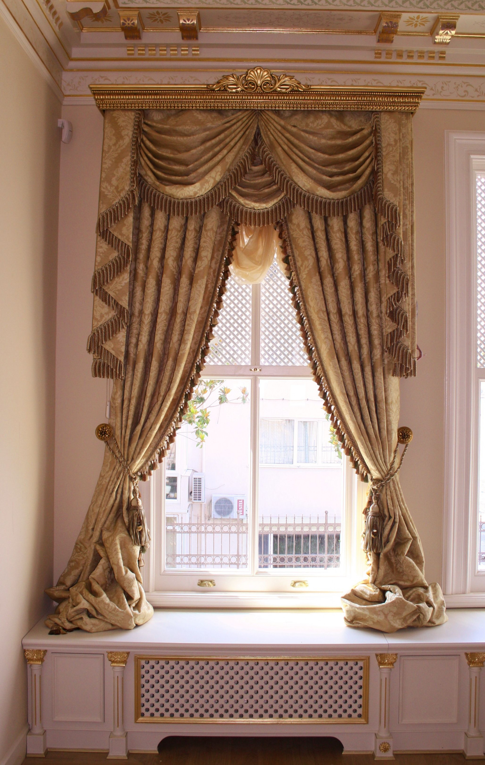 Istanbul Yali Bosphorus Oztekmimarlik  Gardinen Schablonen von Türkische Wohnzimmer Gardinen Photo