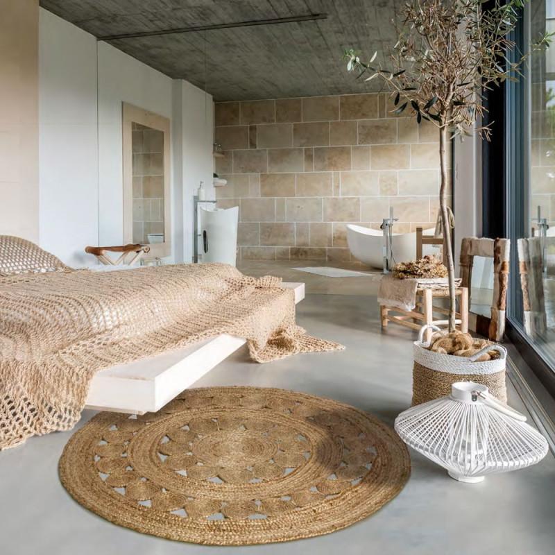 Jungle von Runder Wohnzimmer Teppich Photo