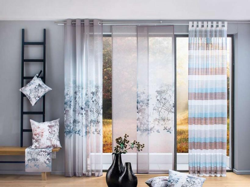Keine Chance Für Neugierige Blicke Die Richtigen Gardinen von Wohnzimmer Gardinen Grau Bild