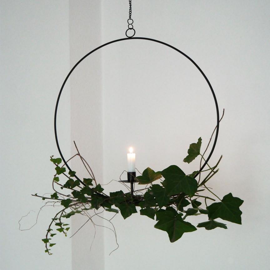 Kerzenhalter Rund Hängend von Hängende Deko Wohnzimmer Bild