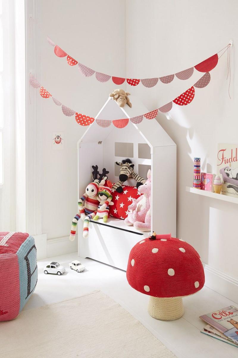 Kinderzimmerdeko  Im Kinderzimmer Wird An Jedem Tag von Deko Girlande Wohnzimmer Bild