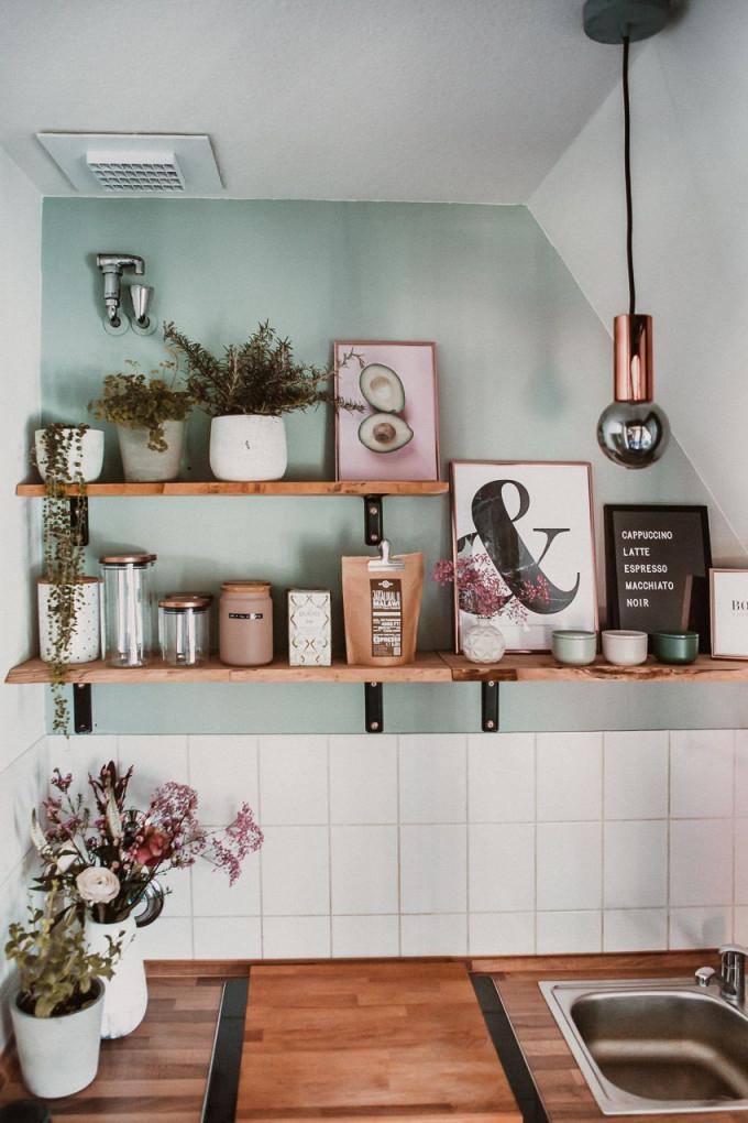 Kleine Küche Neu Gestalten – Rosegold  Marble In 2020 (Mit von Rosegold Deko Wohnzimmer Photo