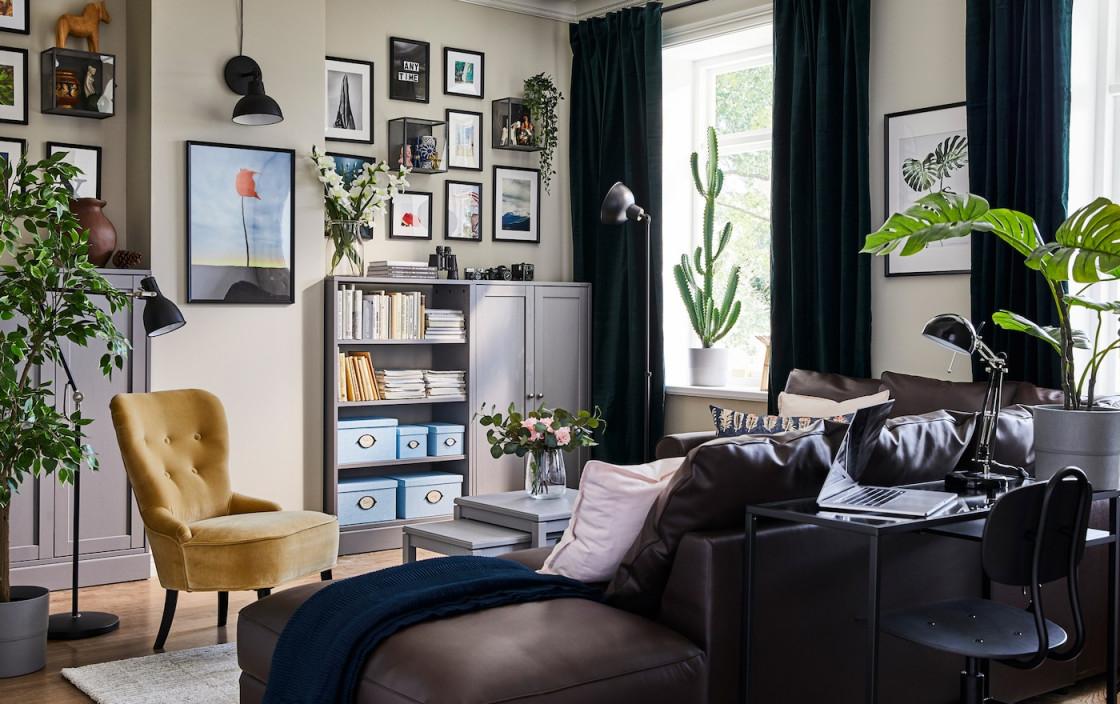 Kleine Räume Einrichten  Tipps  Tricks  Ikea Deutschland von Kleine Räume Einrichten Wohnzimmer Bild