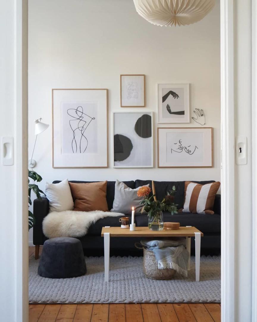 Kleine Wohnzimmer Gemütlich Einrichten 10 Ideen Für Schönere von Kleines Wohnzimmer Gemütlich Gestalten Photo