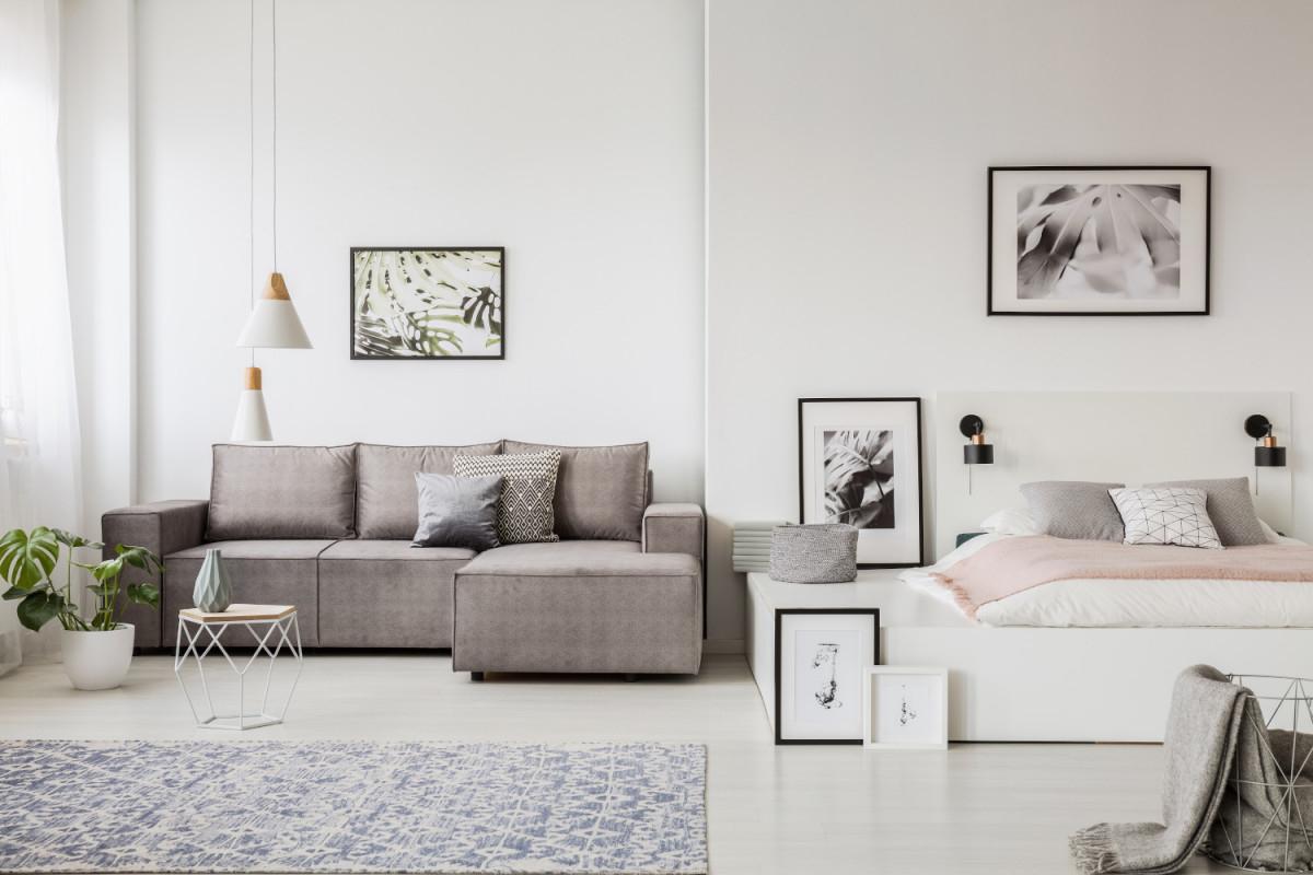 Kleine Zimmer Einrichten  20 Tipps Für Kleine Wohnungen von Wohnzimmer Platzsparend Einrichten Photo