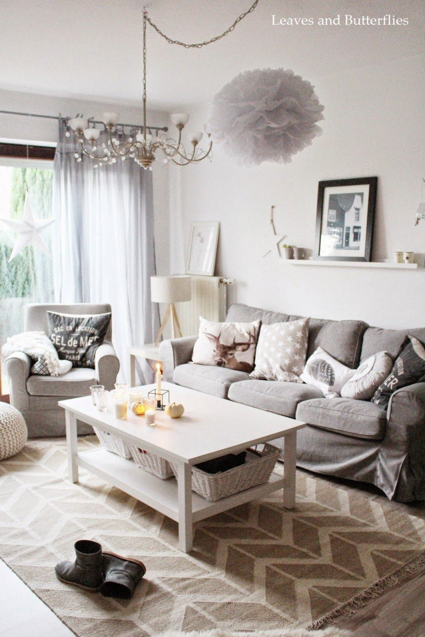 Kleiner Wohnzimmereinblick Und Ein Schönes Wochenende Für von Schöne Bilder Für Das Wohnzimmer Bild