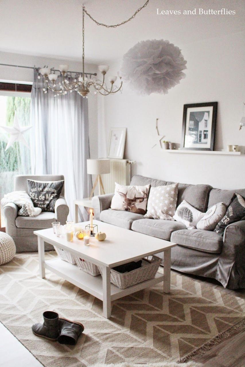 Kleiner Wohnzimmereinblick Und Ein Schönes Wochenende Für von Schöne Bilder Wohnzimmer Bild