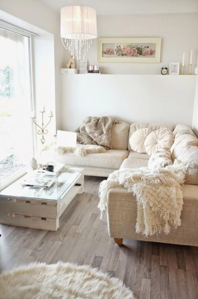 Kleines Wohnzimmer Einrichten  70 Frische Wohnideen von Wohnzimmer Hell Gestalten Bild