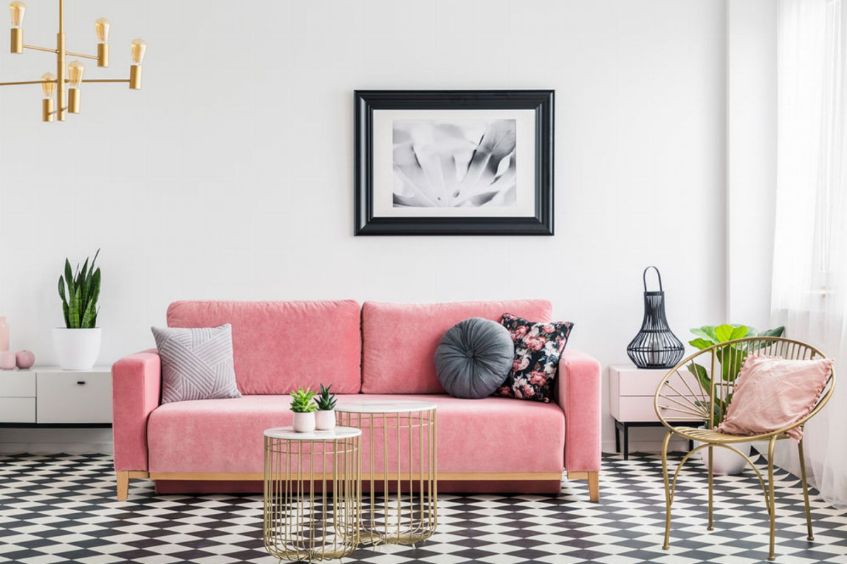 Kleines Wohnzimmer Einrichten Ideen Für Kleine Zimmer  Glamour von Ideen Wohnzimmer Und Schlafzimmer In Einem Photo