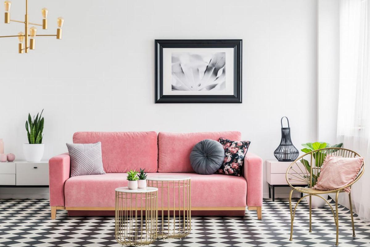 Kleines Wohnzimmer Einrichten Ideen Für Kleine Zimmer  Glamour von Wohnzimmer Mit Essbereich Einrichten Bild