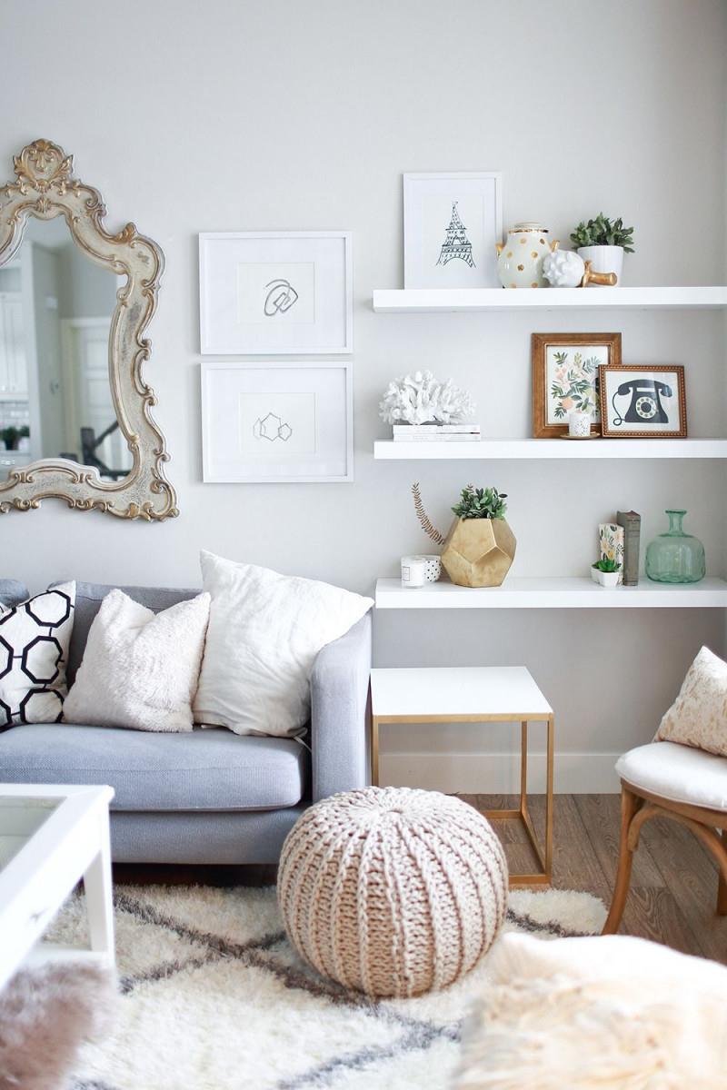 Kleines Wohnzimmer Einrichten So Wirkt Es Gleich Größer von Wohnzimmer Stilvoll Einrichten Photo