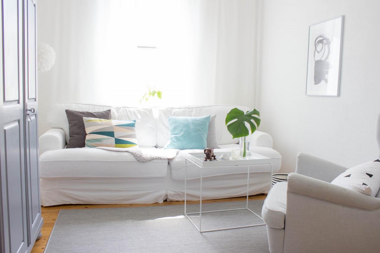 Kleines Wohnzimmer Entspannt Einrichten  Meine von Mini Wohnzimmer Einrichten Photo
