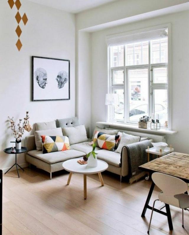 Kleines Wohnzimmer Gestalten Wie Kann Es Schön Werden von Kleines Wohnzimmer Einrichten Bild