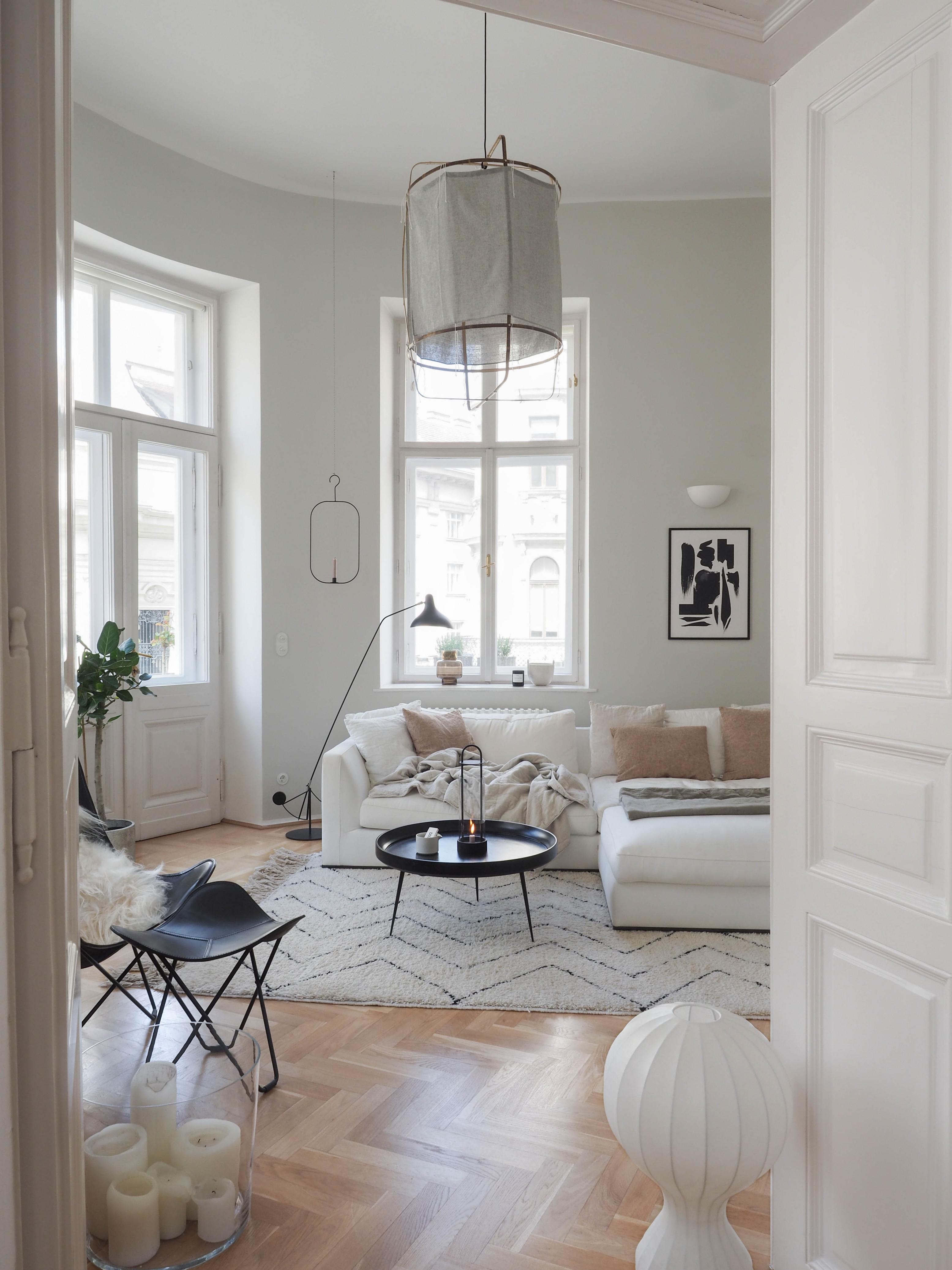 Kleines Wohnzimmer Makeover  Traumzuhause von Bilder Für Das Wohnzimmer Bild