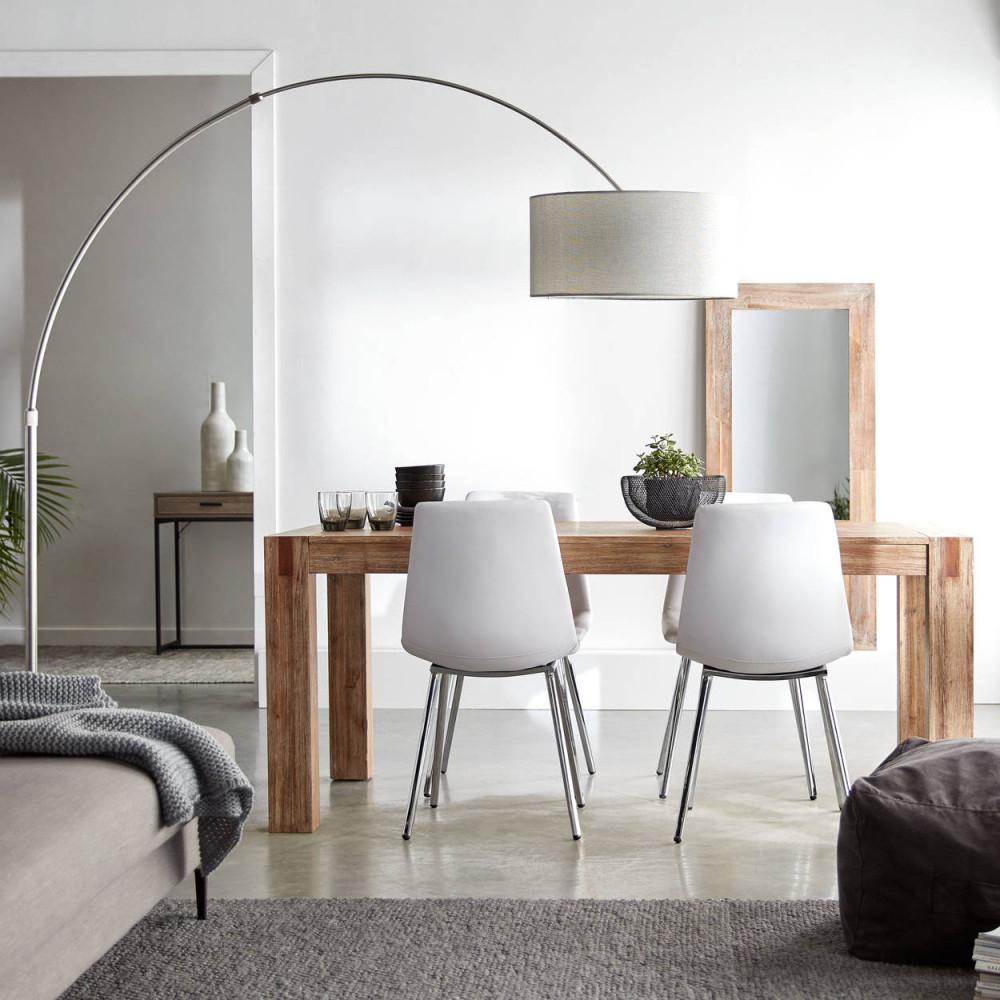 Kleines Wohnzimmer Mit Essbereich Einrichten  Tipps Der von Wohnzimmer Mit Esstisch Einrichten Bild