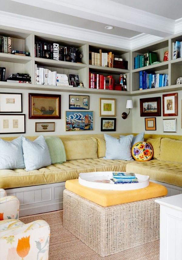 Kleines Zimmer Einrichten  38 Kreative Platzschaffende von Sitzecke Ideen Wohnzimmer Photo