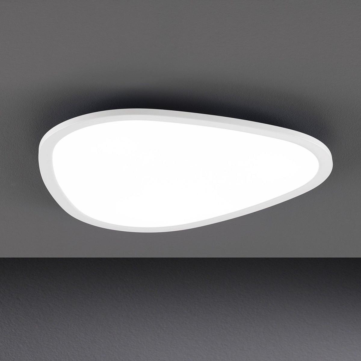 Kristall Lampen Modern  Led Deckenlampe Flach  Badezimmer von Moderne Led Deckenlampe Wohnzimmer Photo