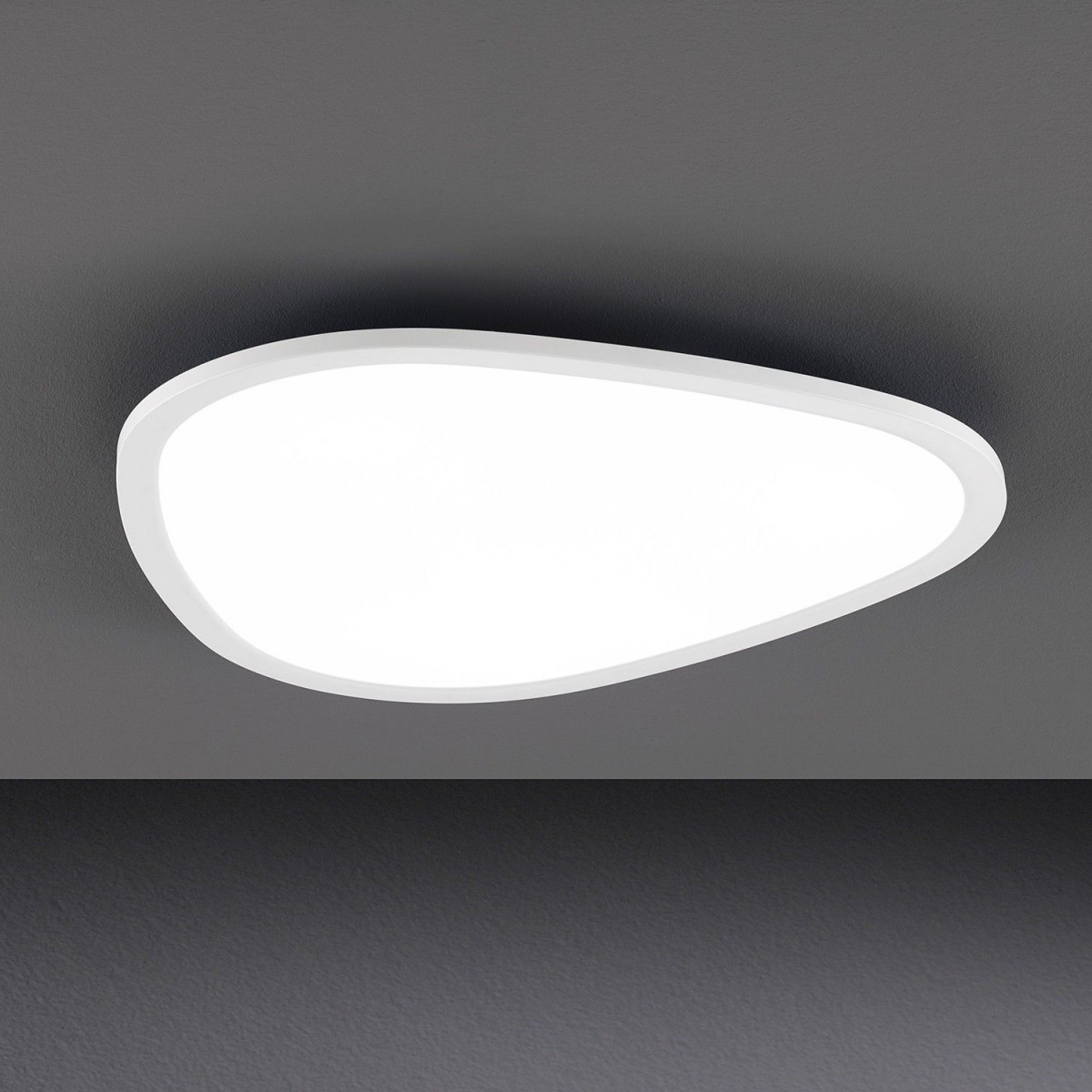 Kristall Lampen Modern  Led Deckenlampe Flach  Badezimmer von Wohnzimmer Lampe Flach Bild
