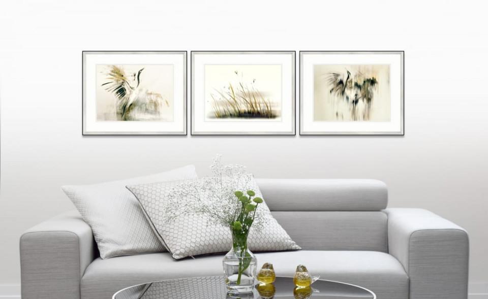 Kunstdrucke Serie London  Onlineshop Galerie In Den Wolken von Wohnzimmer Bilder Mit Rahmen Bild