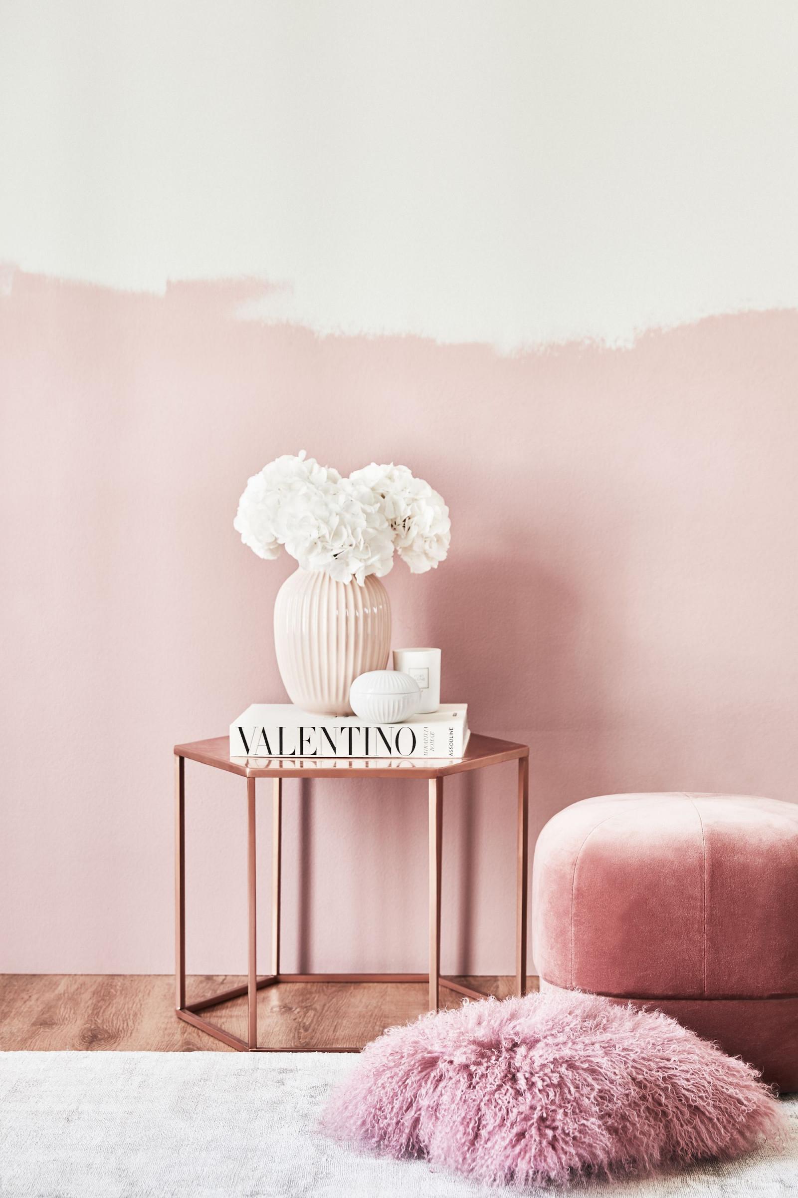Kupfer Und Pink ♥️ Ein Traumessamble Aus Einem von Wohnzimmer Deko Pink Photo