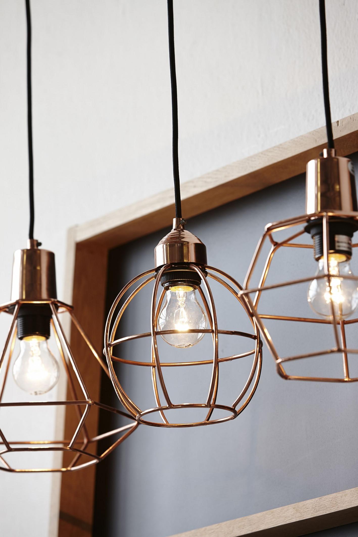 Kupferlampe  Lampe Kupferlampe Beleuchtungsideen von Kupfer Lampe Wohnzimmer Photo