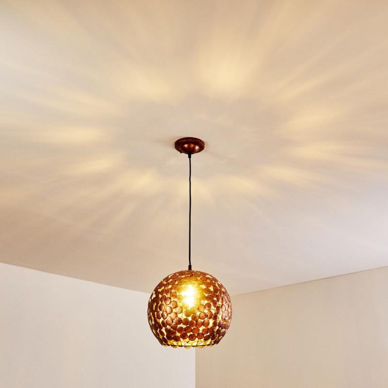 Kupferlampen Der Einrichtungstrend Kupfer Ist Da  Lampe von Kupfer Lampe Wohnzimmer Bild
