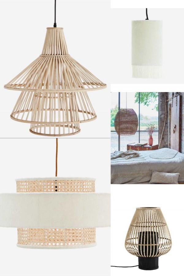 Lampe  Lampenschirm  Boho  Skandinavisch  Ibiza  Style von Wohnzimmer Lampe Skandinavisch Bild