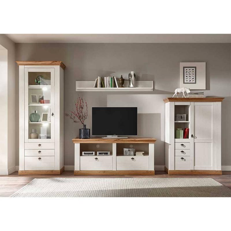 Landhaus Möbel Kombination Für Wohnzimmer  Diatara (4Teilig) von Wohnzimmer Landhausstil Bilder Bild
