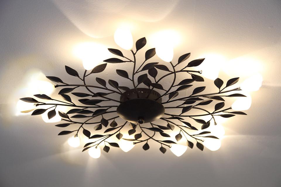 Landhausstil Deckenlampe Wohnzimmer – Caseconrad von Wohnzimmer Lampe Landhausstil Photo