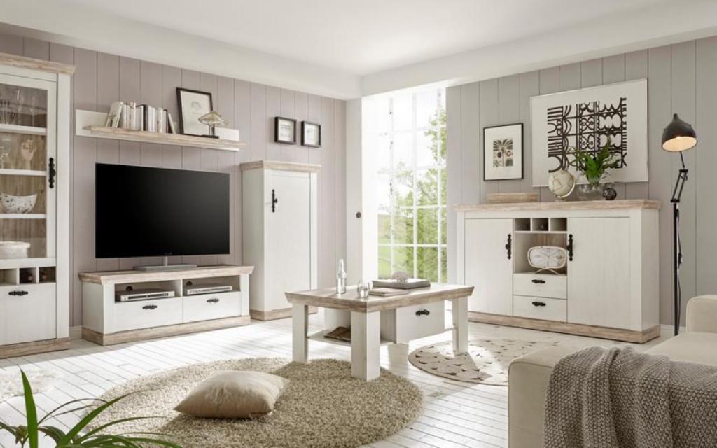 Landhausstil  Ein Stück Vom Landglück ☘  Baur von Bilder Für Wohnzimmer Landhausstil Photo
