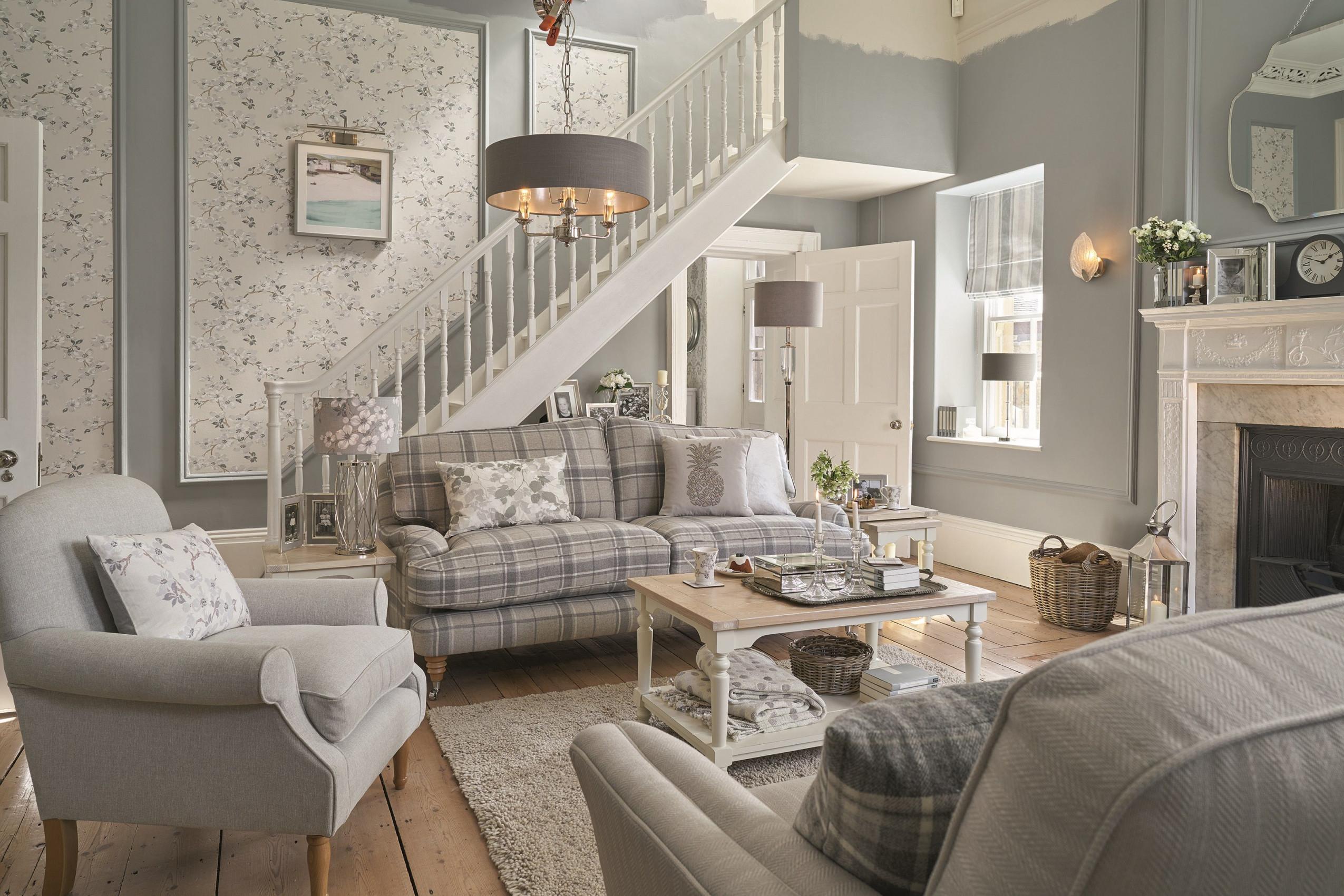 Landhausstil Ideen Für Jedes Zimmer  Das Haus  Landhaus von Bilder Landhausstil Wohnzimmer Bild