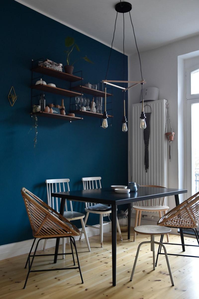 Lass Uns Blau Machen  Trendwatch Blau Als Wandfarbe von Wohnzimmer Ideen Blau Bild