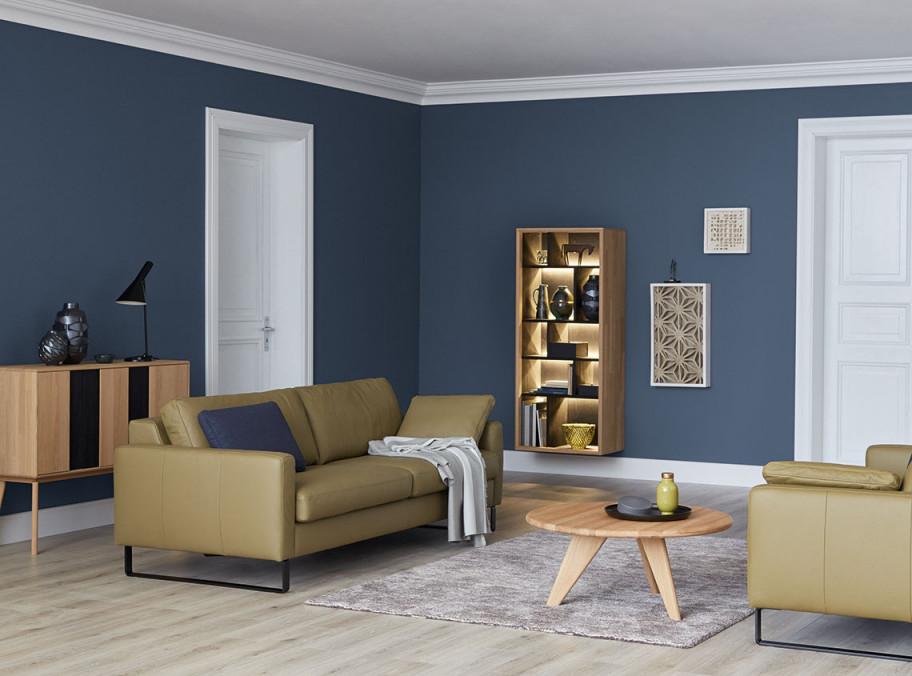 Lassen Sie Sich Durch Unsere Wohnwelten Inspirieren von Wohnzimmer Wände Farbig Gestalten Bild