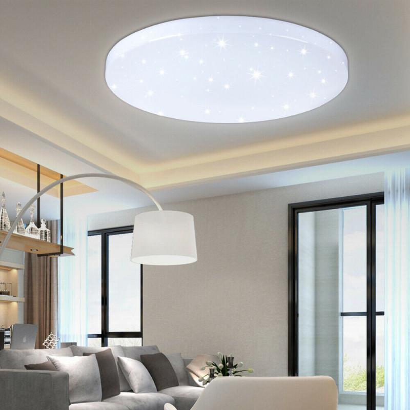 Led Deckenlampe Deckenleuchte 18 Watt Xd R18 Flurlampe von Deckenleuchte Led Wohnzimmer Photo