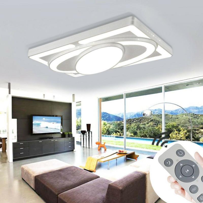 Led Deckenleuchte Dimmbar Deckenlampe 48W78W Wohnzimmer von Wohnzimmer Deckenleuchte Dimmbar Photo