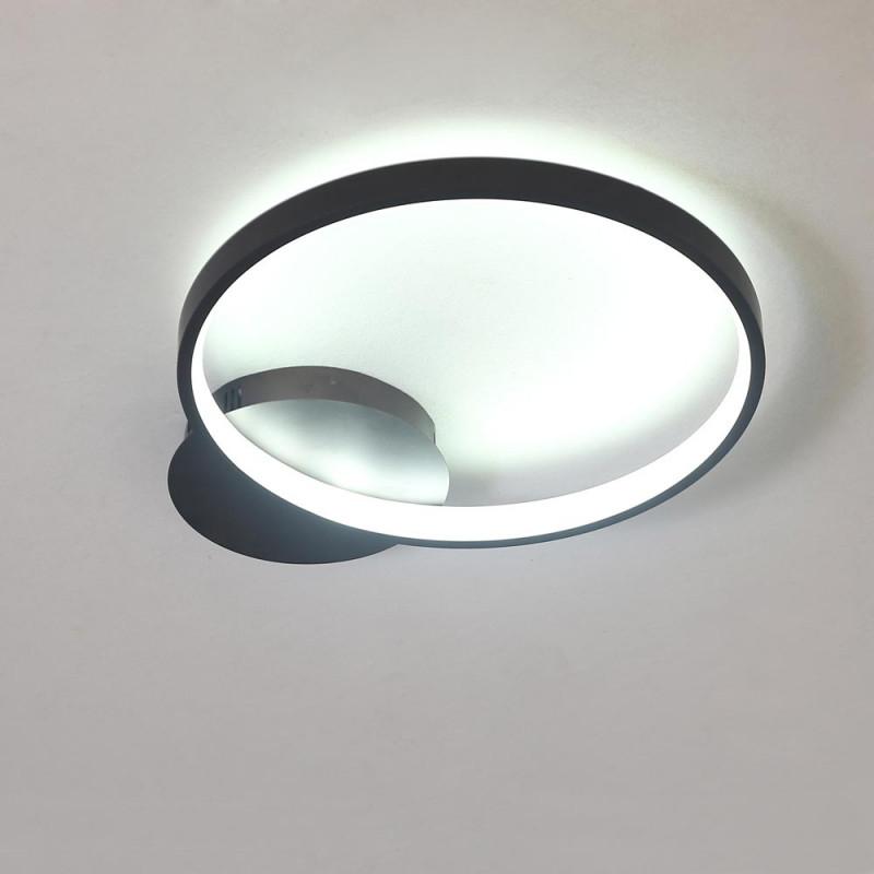 Led Deckenleuchte Ring Design Für Wohnzimmer Moderne Stil von Deckenleuchte Modern Wohnzimmer Photo