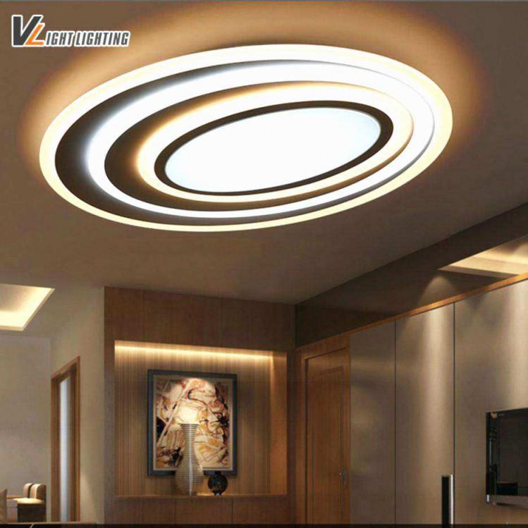 Led Deckenleuchte Wohnzimmer Das Beste Von Schön Deckenlampe von Deckenlampe Wohnzimmer Dimmbar Bild