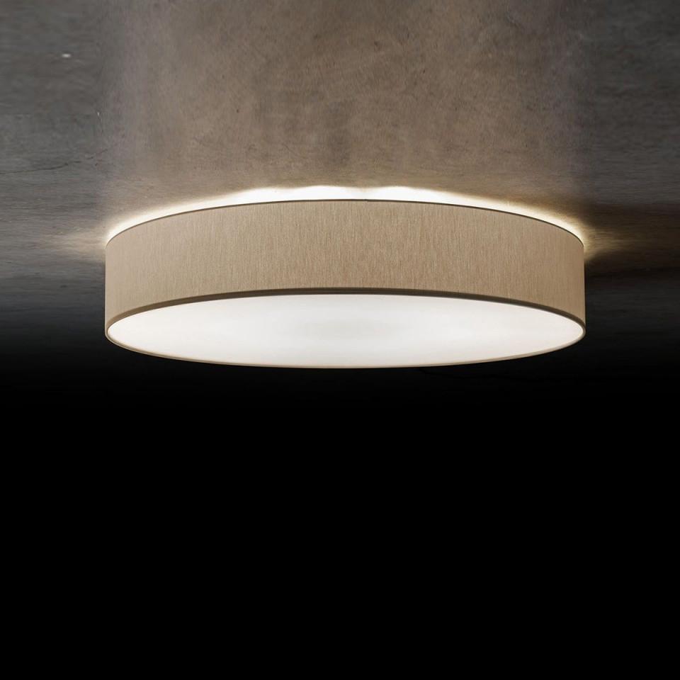 Led Lampe Decke Flach  Deckenleuchte Weiß Gold von Wohnzimmer Lampe Flach Bild