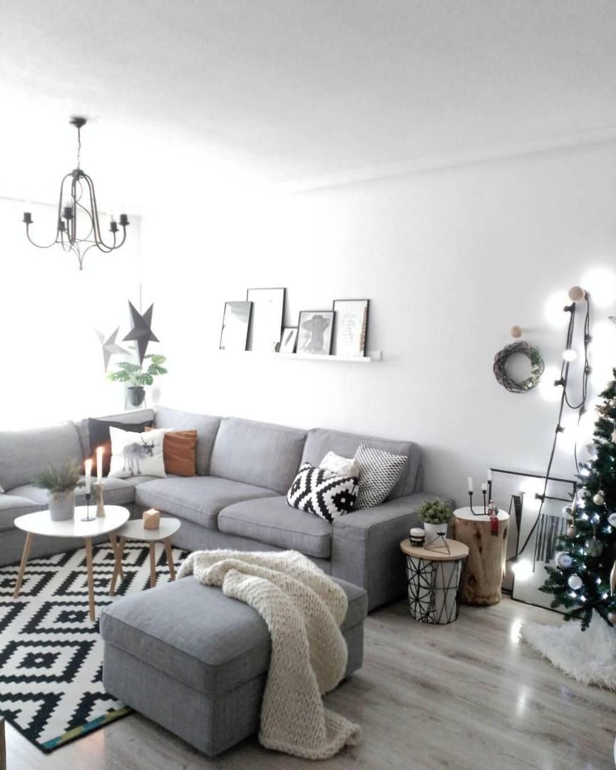 Led Lichterkette Optika  Zuhause Wohnzimmer Dekorieren Wohnen von Lichterkette Deko Wohnzimmer Bild