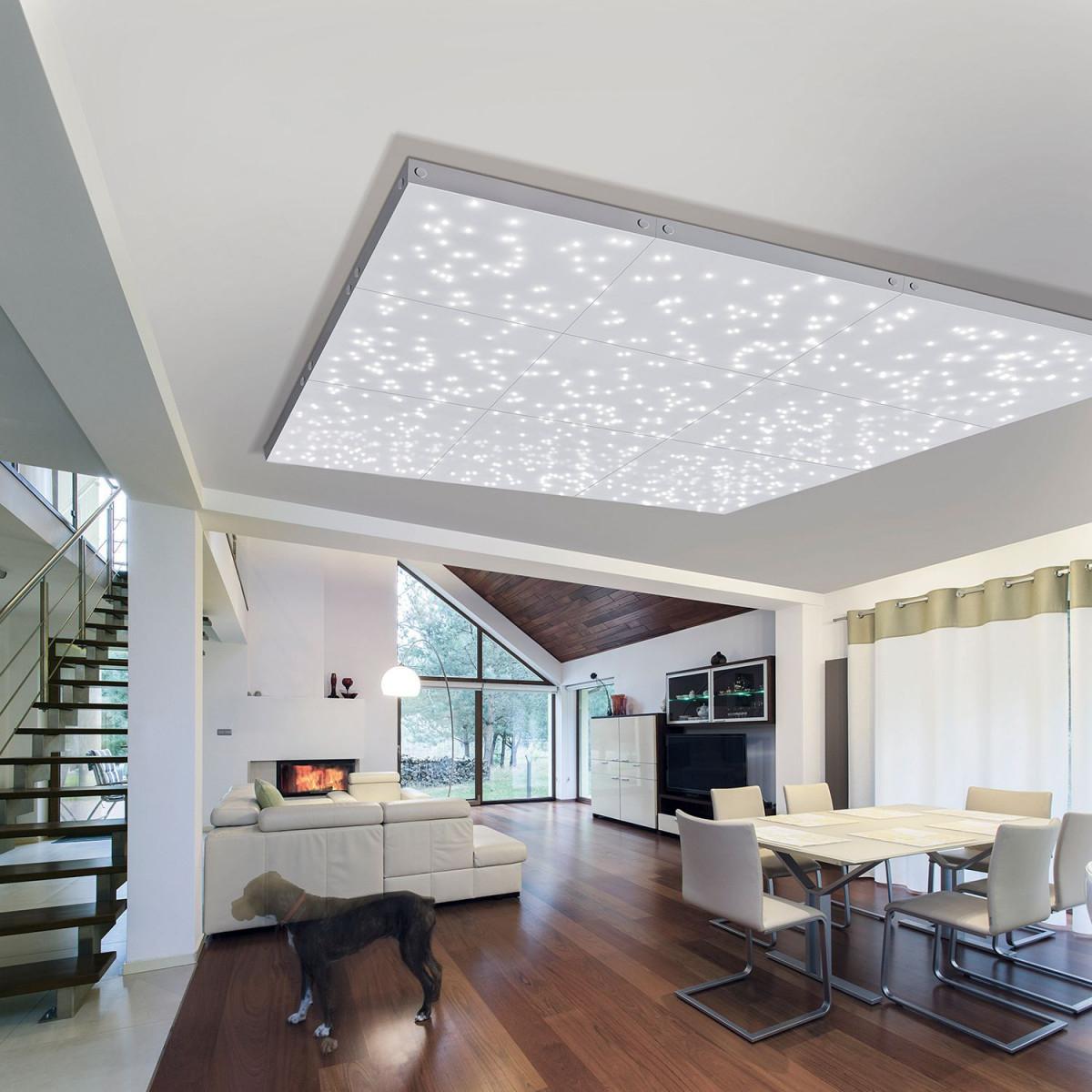 Lederweiterungspaneel Sternenhimmel (Mit Bildern von Deckenleuchte Großes Wohnzimmer Bild