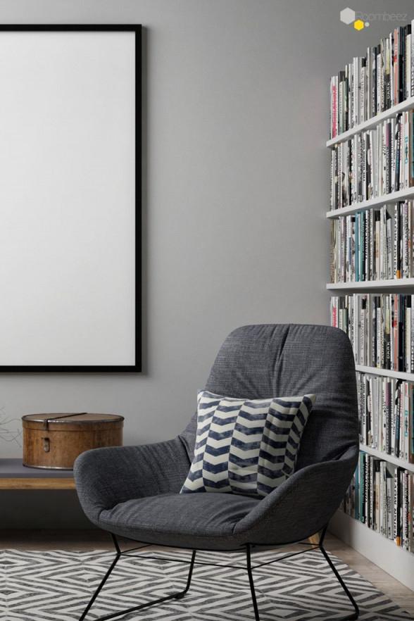 Leseecke Wohnzimmer Einrichten Ein Buch Eine Tasse Tee von Leseecke Wohnzimmer Gestalten Photo